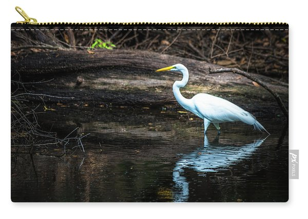 Reflecting White Carry-all Pouch