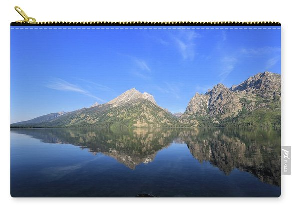 Reflection At Grand Teton National Park Carry-all Pouch