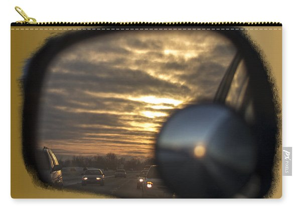 Reflection Of A Sunset Carry-all Pouch