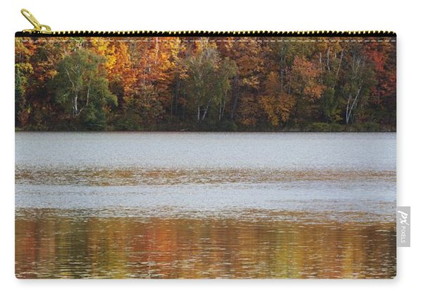 Reflection Of Autumn Colors In A Lake Carry-all Pouch