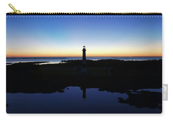 Reflection Of Bodie Light At Sunset Carry-all Pouch