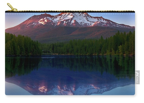 Reflection On California's Lake Siskiyou Carry-all Pouch