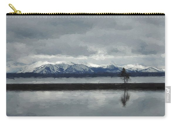 Reflections In Lake Yellowstone Carry-all Pouch