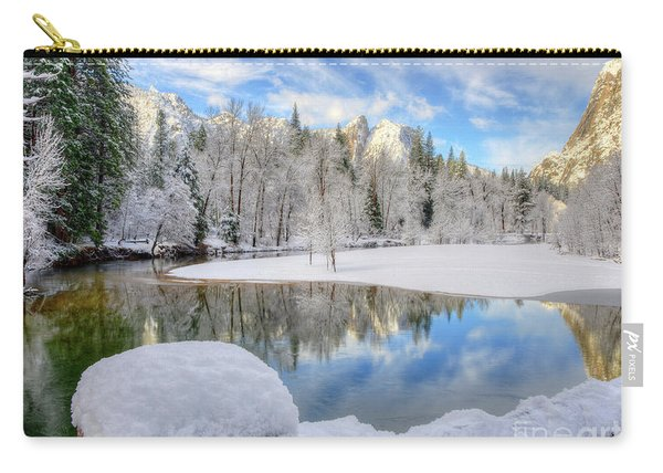 Reflections In The Merced River Yosemite National Park Carry-all Pouch