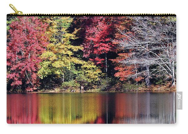Reflections Of A Bare Tree Carry-all Pouch