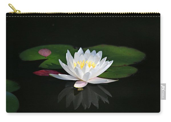 Reflections Of A Water Lily Carry-all Pouch