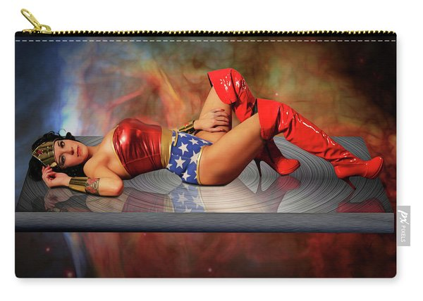 Reflections Of A Wonder Woman Carry-all Pouch