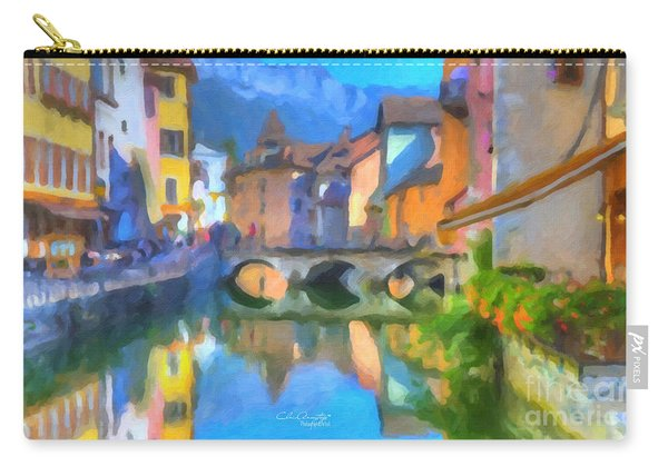Reflections Of Eze Carry-all Pouch