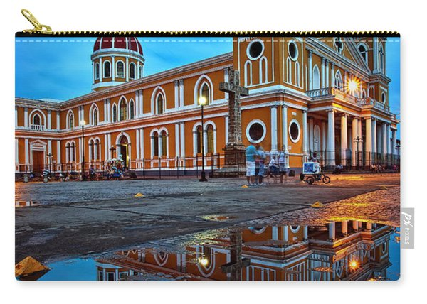 Reflections Of Granada, Nicaragua  Carry-all Pouch