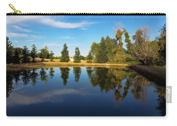 Reflections Of Life Carry-all Pouch