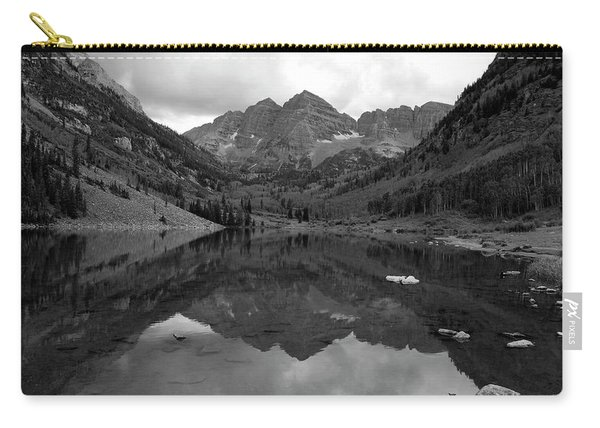 Reflections Of Maroon Bells Carry-all Pouch