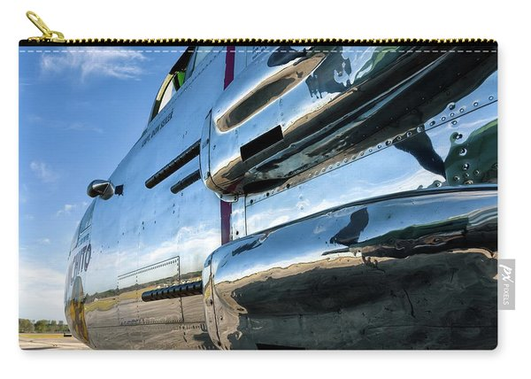 Reflections Of Panchito - 2017 Christopher Buff, Www.aviationbuff.com Carry-all Pouch