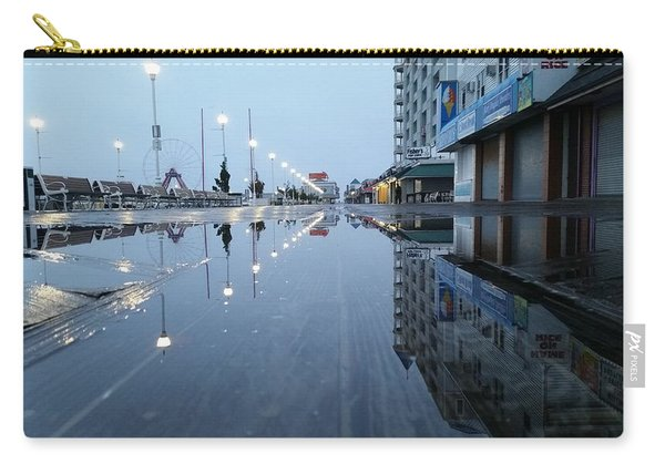 Reflections Of The Boardwalk Carry-all Pouch