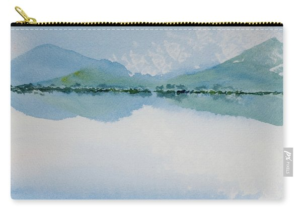 Reflections Of The Skies And Mountains Surrounding Bathurst Harbour Carry-all Pouch