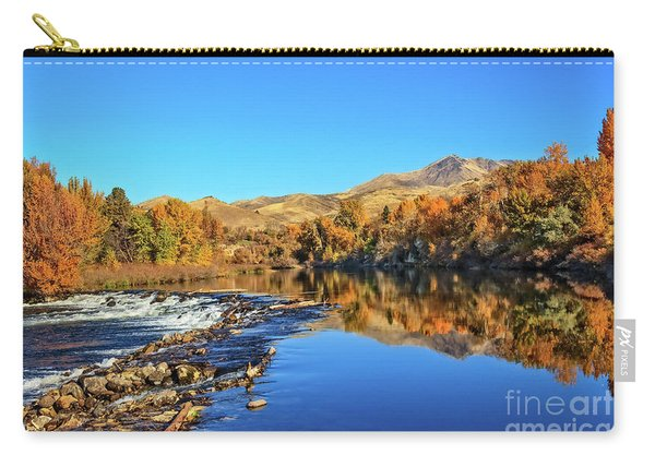 Reflections On The Payette River Carry-all Pouch