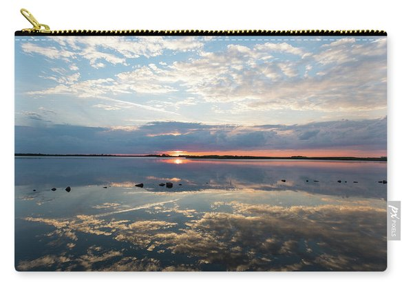 Reflections Over Back Bay Carry-all Pouch