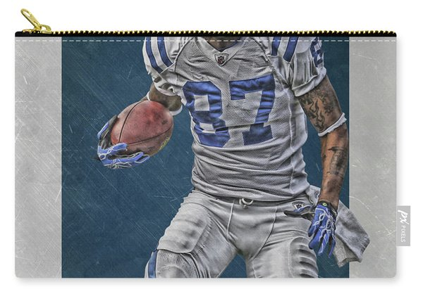Reggie Wayne Indianapolis Colts Art Carry-all Pouch