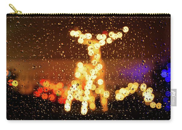 Reindeer Bokeh Carry-all Pouch