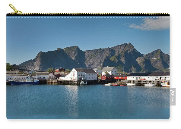 Reinebringen And Hamnoy Carry-all Pouch