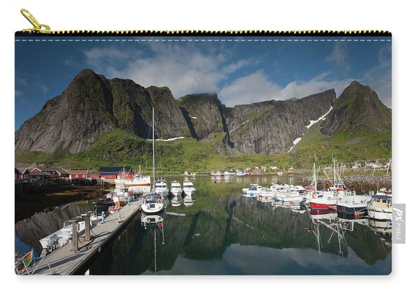 Reinebringen From Reine Port Carry-all Pouch