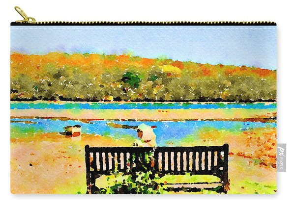 Relax Down By The River Carry-all Pouch
