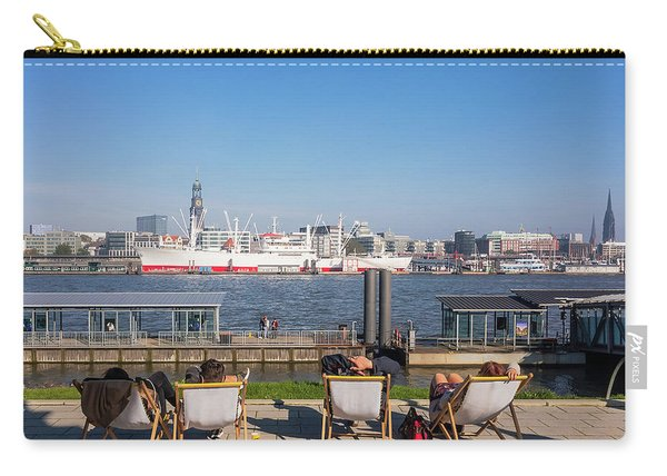 Relax On The Elbe Carry-all Pouch