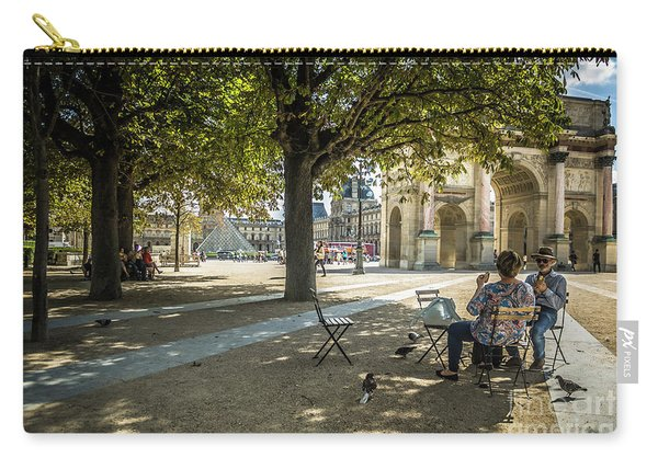 Relaxing Afternoon In Paris Carry-all Pouch