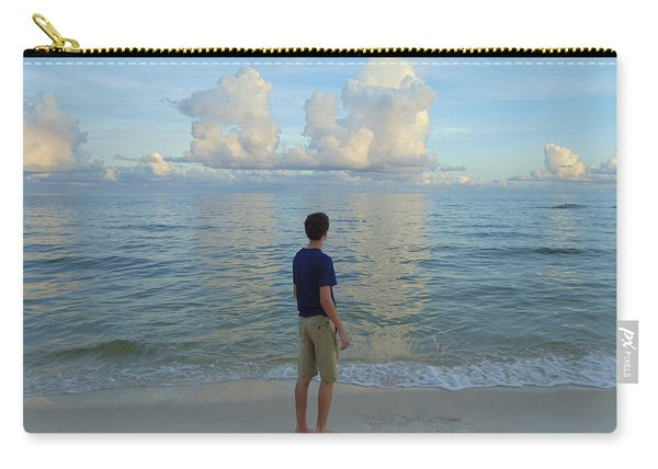 Relaxing By The Ocean Carry-all Pouch