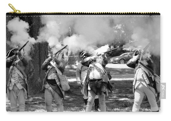 Reliving History-bw Carry-all Pouch