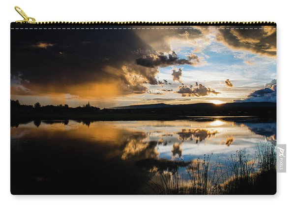 Carry-all Pouch featuring the photograph Remains Untrusted by Jason Coward