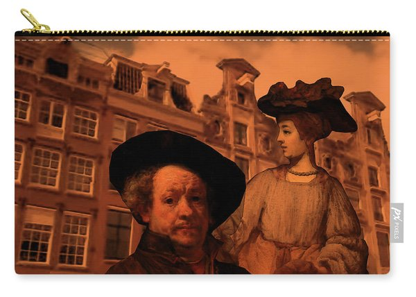 Rembrandt Study In Orange Carry-all Pouch