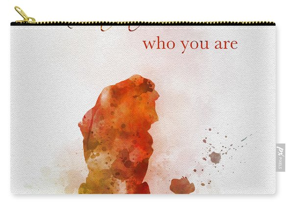Remember Who You Are Carry-all Pouch