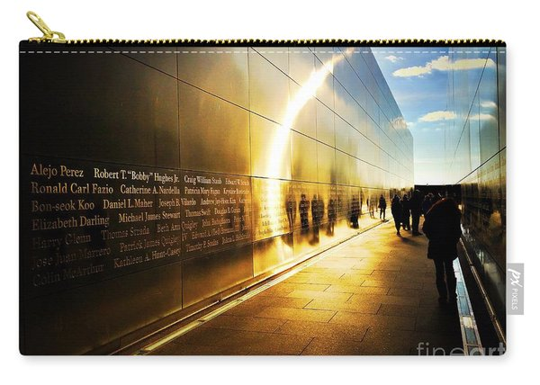 Remembrance At Empty Sky Carry-all Pouch