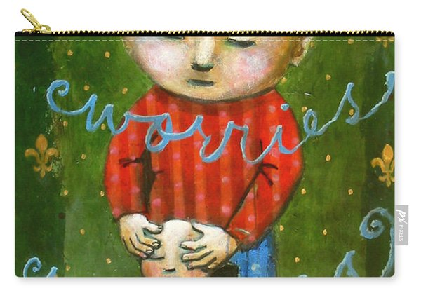 Removing Your Worries Carry-all Pouch