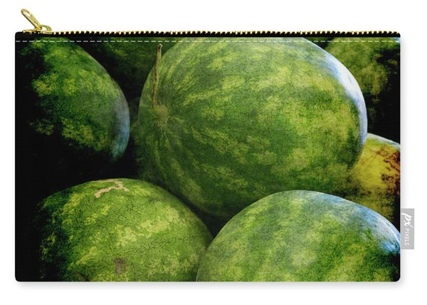Renaissance Green Watermelon Carry-all Pouch