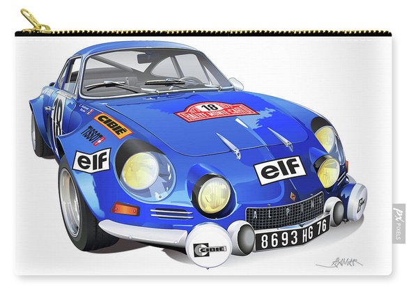 Alpine Renault A110 Carry-all Pouch