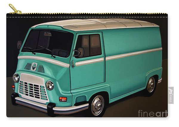 Renault Estafette 1959 Painting Carry-all Pouch