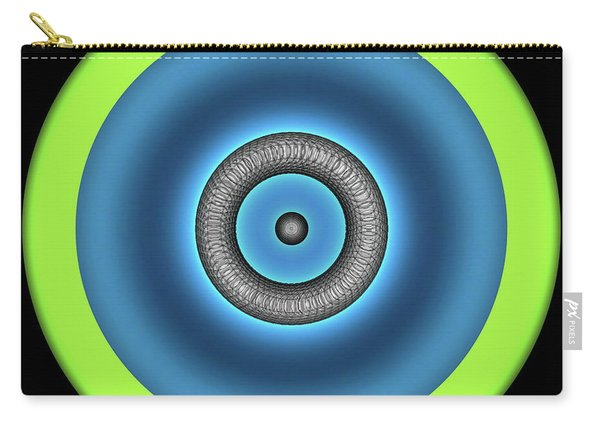 Carry-all Pouch featuring the digital art Renewable Energy by Visual Artist Frank Bonilla