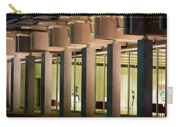 Renzo Piano Building Kimball Museum Carry-all Pouch