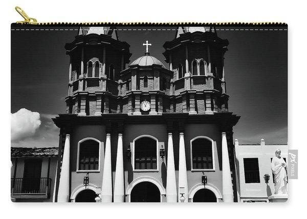 Replica Church In El Penol Carry-all Pouch