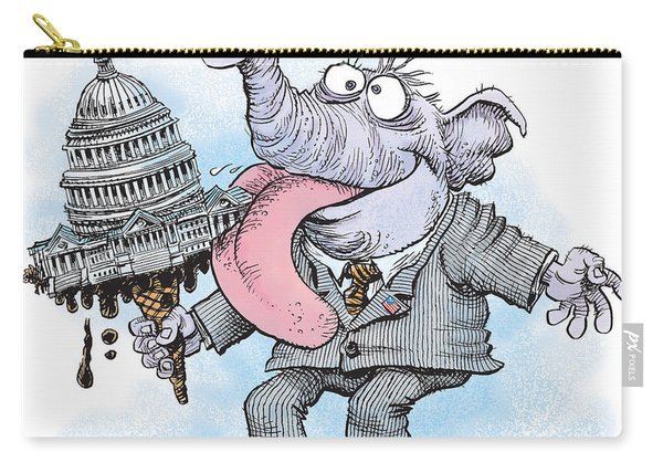 Republicans Lick Congress Carry-all Pouch
