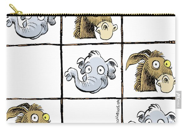 Republicans Win Tic Tac Toe Carry-all Pouch
