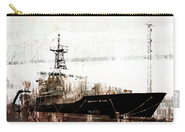 Research Vessel Atlantis In Astoria Oregon Carry-all Pouch