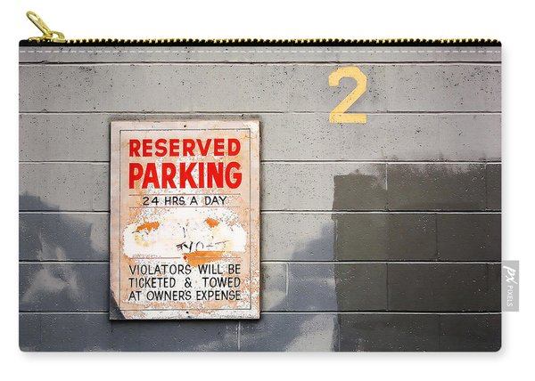 Reserved Parking Carry-all Pouch