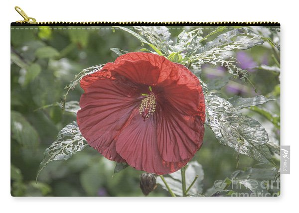 Resilient Hibiscus Carry-all Pouch