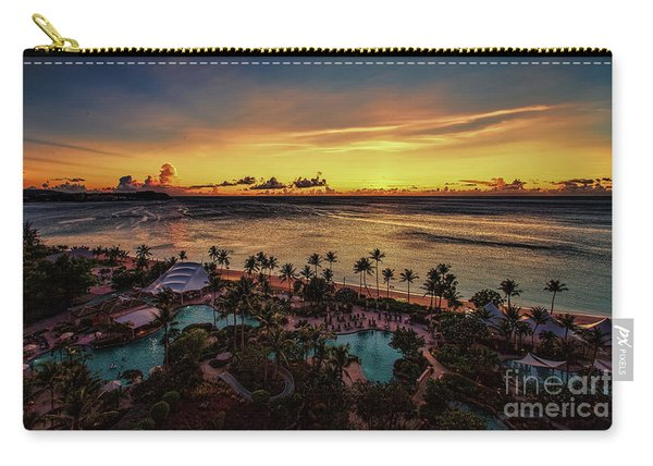 Resort Sunset Carry-all Pouch