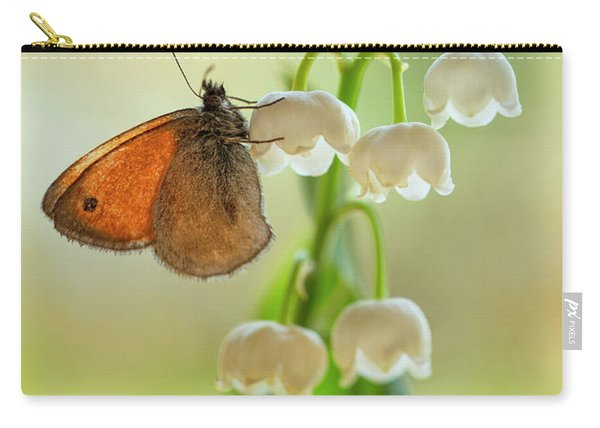 Carry-all Pouch featuring the photograph Rest In The Morning Sun by Jaroslaw Blaminsky