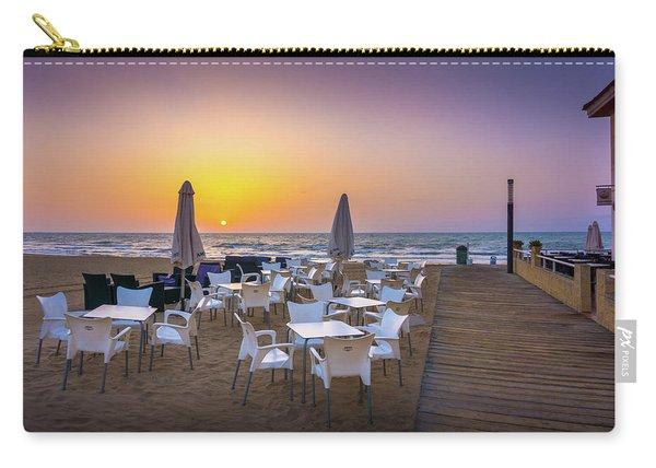 Restaurant Sunrise, Spain. Carry-all Pouch