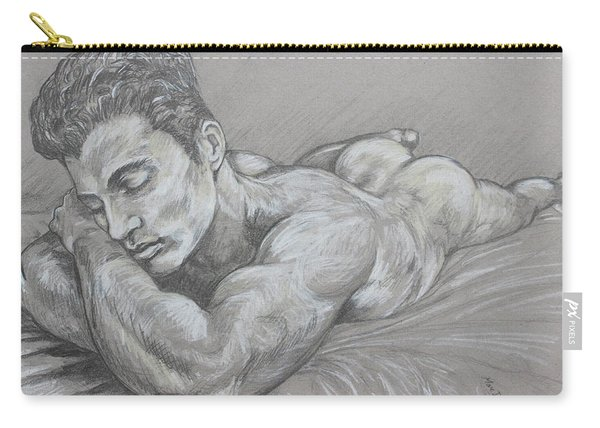 Resting Nude Carry-all Pouch