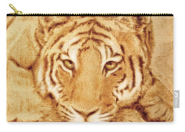 Resting Tiger Carry-all Pouch